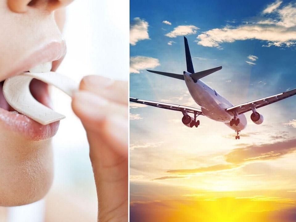 Британський лікар порадив авіапасажирам відмовитися від жувальної гумки на час перельоту.