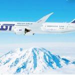 Прямі рейси польської авіакомпанії LOT