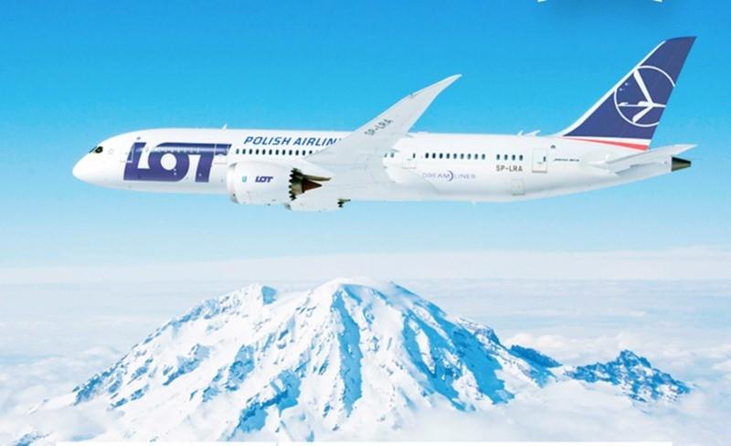 Прямые рейсы польской авиакомпании LOT