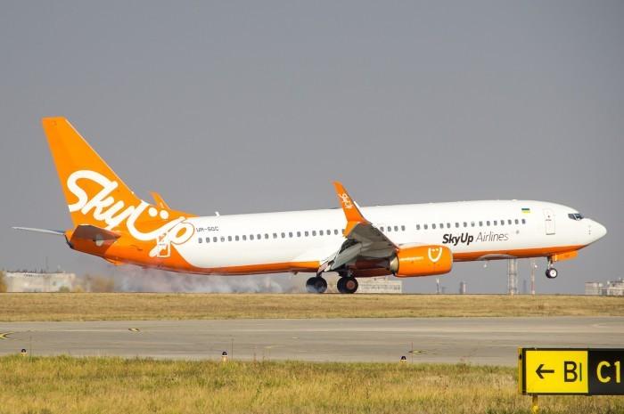 SkyUp дозволили запустити рейси із Запоріжжя в Прагу