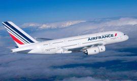 Авиакомпания Air France восстанавливает перелеты между Киевом и Парижем